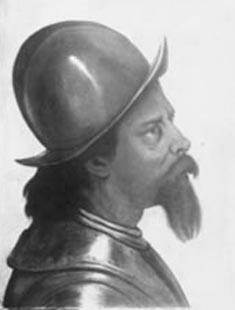 Cabeça de guerreiro holandês (estudo)
