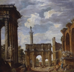 Caprice View with the Arch of Constantine and other Roman Ruins