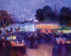 Carnival at Night, Saint-Pol-de-Léon