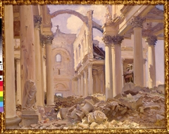 Cathedral of Arras, August 1918