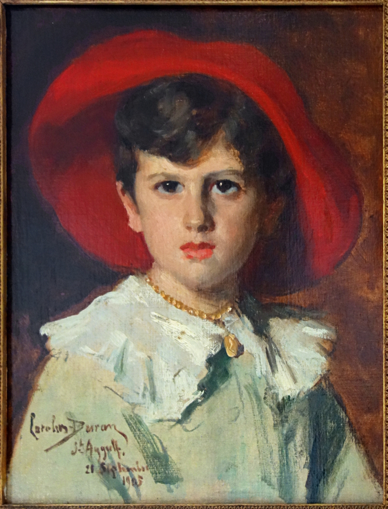 Child in a Red Hat (Michel Feydeau, son of Georges)