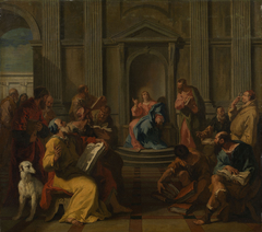 Christ Among the Doctors in the Temple