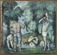 Cinq baigneurs (Five Bathers)