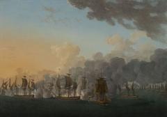 Combat de Louisbourg, 21 juillet 1781