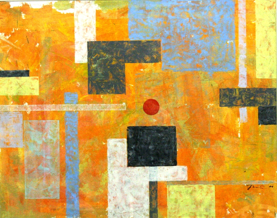 Composition- I 55x69 author technic 2008