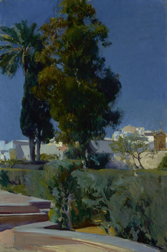 Corner of the Garden, Alcazar, Sevilla