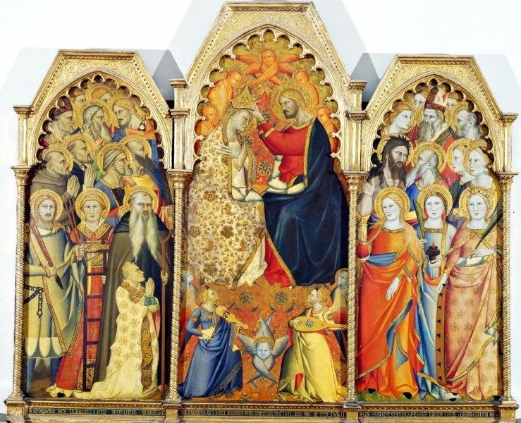 Coronation of the Virgin (triptych)
