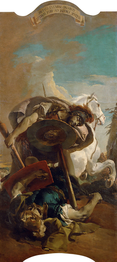 Death of Consul L. J. Brutus in a duel with Aruns