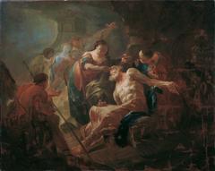 Der junge Tobias heilt seinen Vater mit der Fischgalle