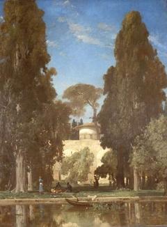 Derelict Gardens in Ashraf (Persia)