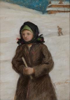 Dziewczyna z gromnicą