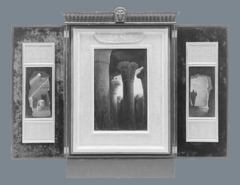 Egyptian Revival Triptych