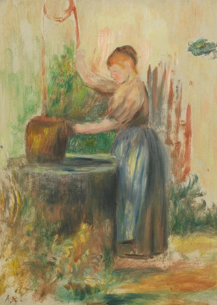 Femme au puits