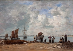 Fishermen's Wives at the Seaside