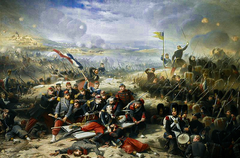 French Assault on the Curtain Wall of Malakoff on September 8, 1855
