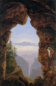 Gate in the Rocks