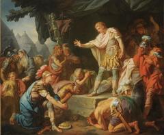 Germanicus apaise la sédition dans son camp