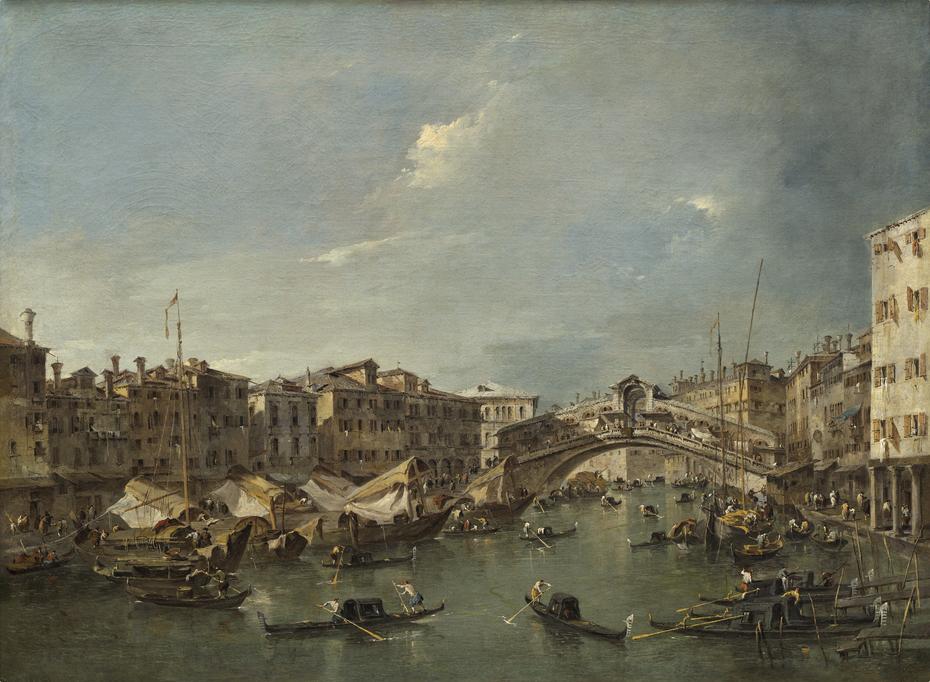Grand Canal with the Rialto Bridge, Venice