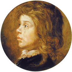 Head of a Boy Facing Left