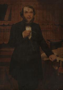 Henry Stevens  (1819-1886), B.A. 1843, M.A.1846