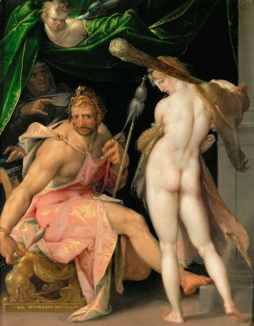 Herakles and Omphale