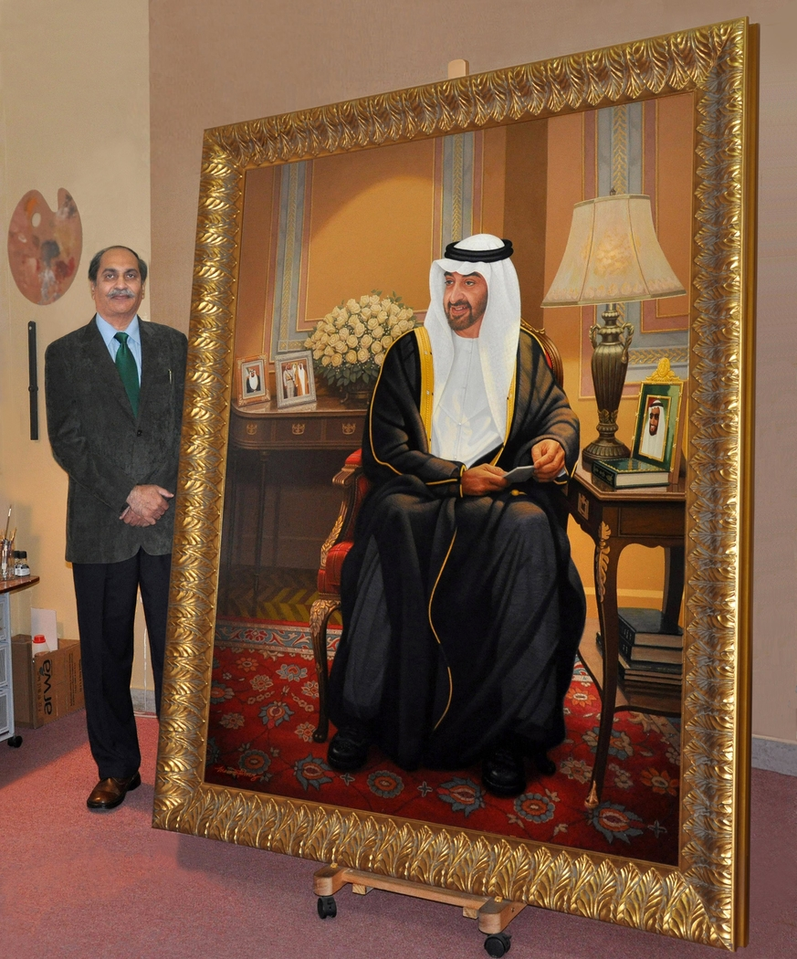 HH SH Mohammed - Size Detail