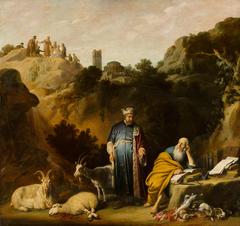Hippocrates Visiting Democritus