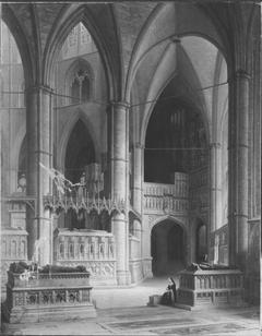 Im Chor der Westminster Abbey in London