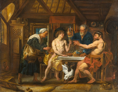 Jupiter and Mercury in the House of Philemon and Baucis