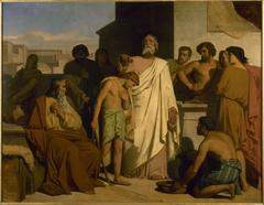 L'onction de David par Samuel