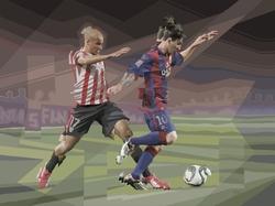 """""""La danza de Messi"""" (serie: Tacos de Acero)"""