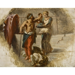 La décollation de Saint Jean Baptiste