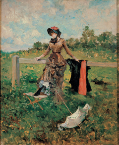 Lady with a Parasol