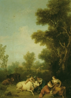 Landscape with Europa and the Bull
