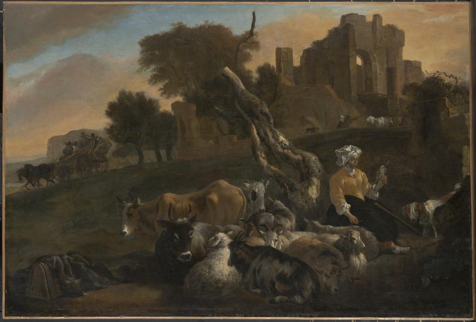 Landscape withShepherde