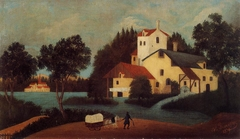 Landscape with Watermill