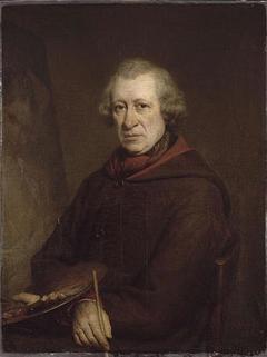Le peintre François Souchon, ancien directeur de l'Ecole de peinture de Lille