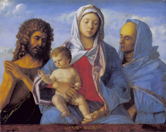 Madonna and Child with Saints John the Baptist and Elizabeth