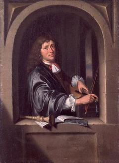 Man Tuning a Violin