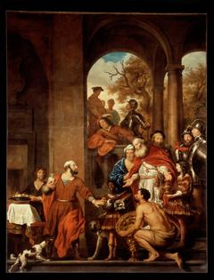 Marcus Curius Dentatus refuses the gifts of the Samnites