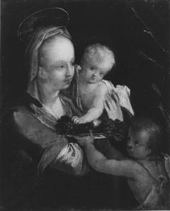 Maria mit dem Kind und dem Johannesknaben (nach)