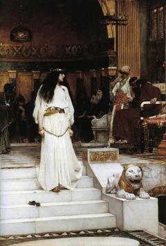 Mariamne Leaving the Judgement Seat of Herod