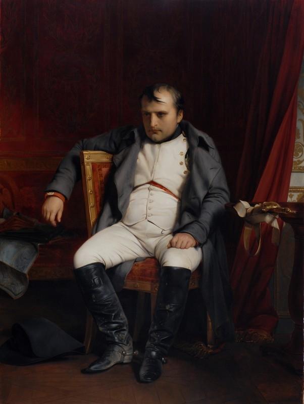 Napoléon Bonaparte abdicated in Fontainebleau