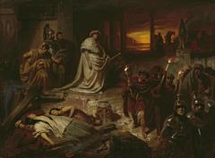 Nero auf den Trümmern Roms