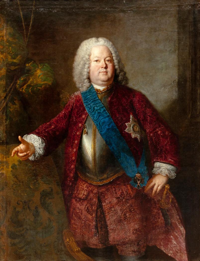 Portrait d'un seigneur allemand