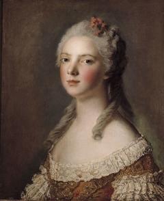 Portrait de Marie-Adélaïde de France, fille de Louis XV, dite Madame Adélaïde