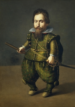 Portrait of a Dwarf