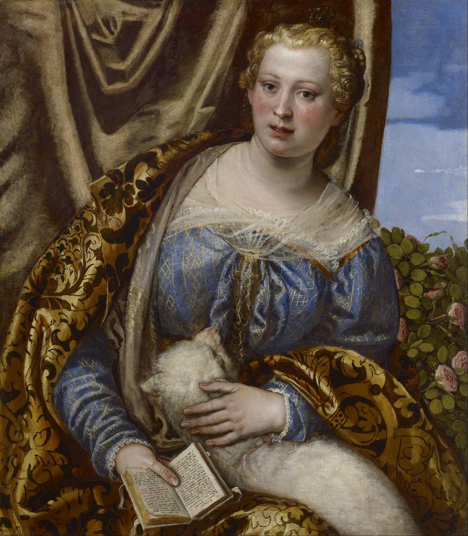 Portrait of a Lady as Saint Agnes