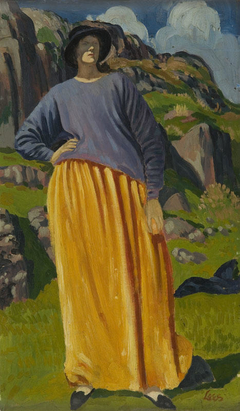 Portrait of a Lady in a Landscape
