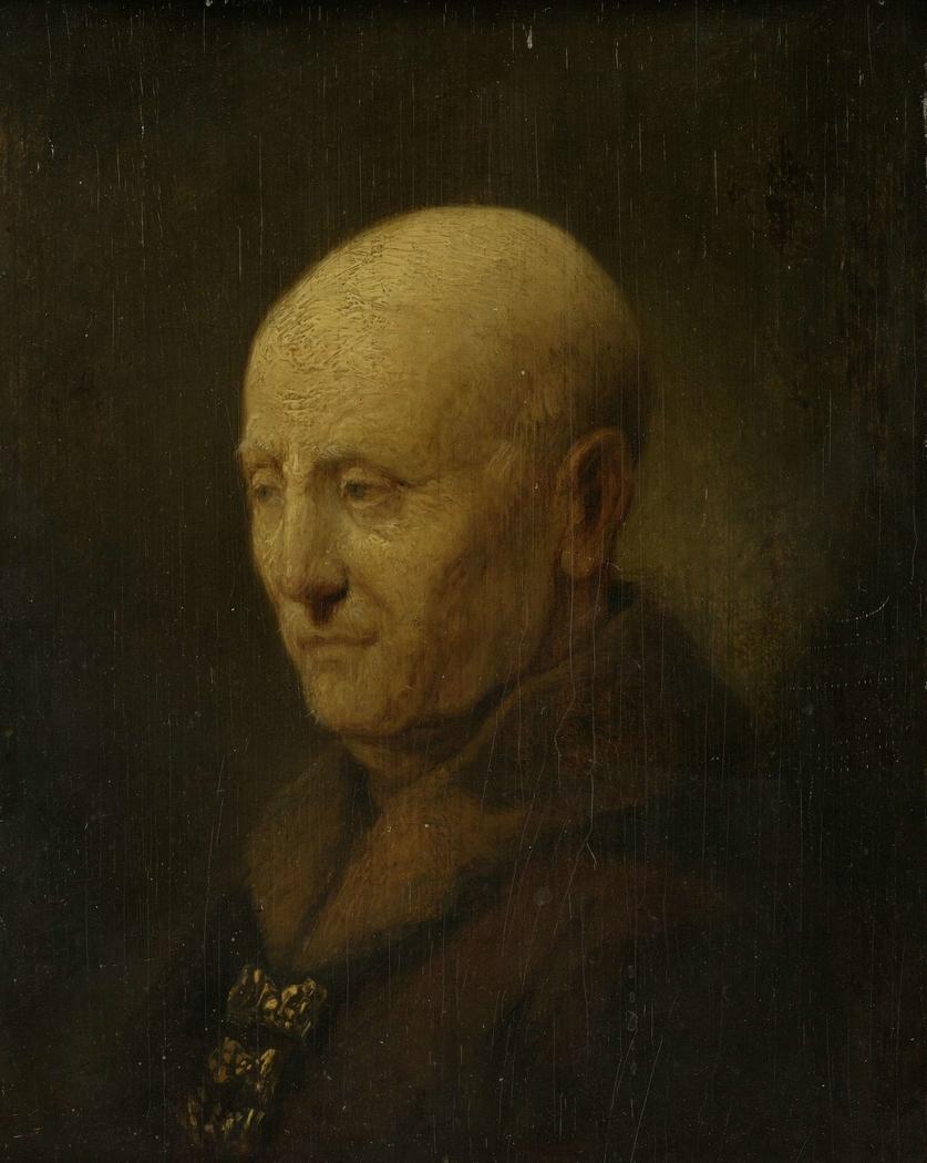 Portrait of a man, perhaps Rembrandt's father, Harmen Gerritsz van Rijn